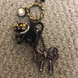 Betsey Johnson Cat Necklace